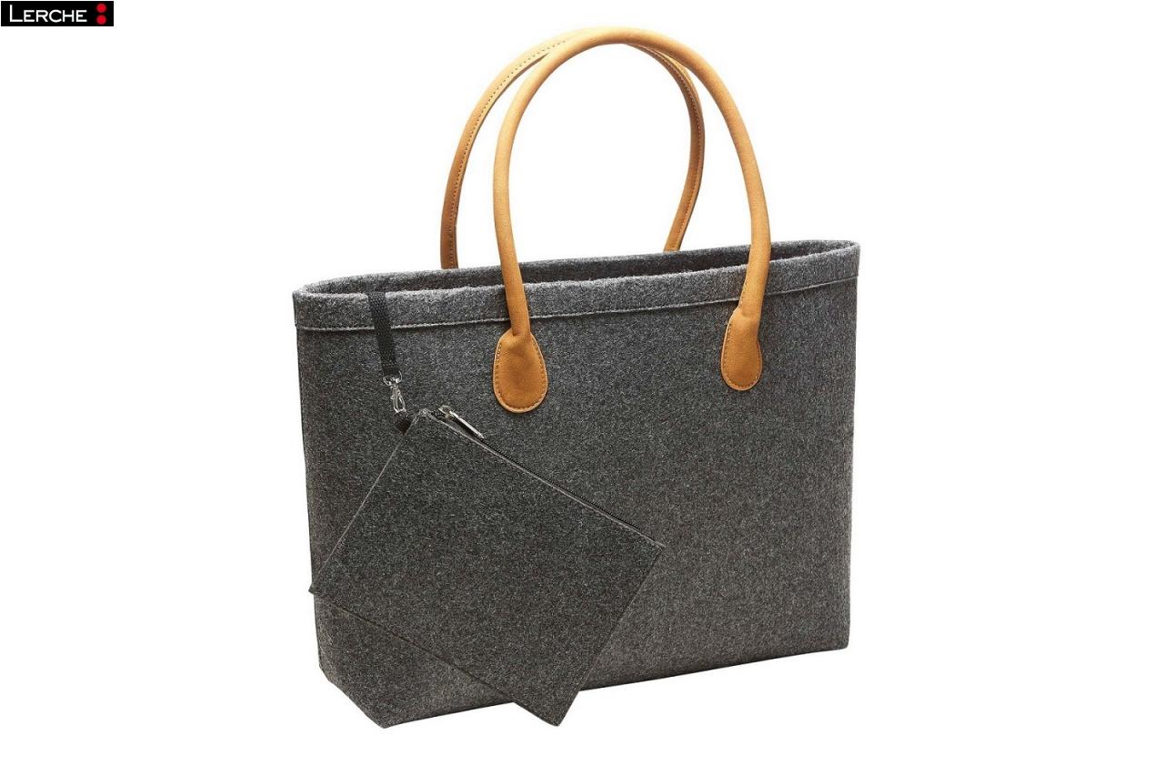 die neue handtasche classic aus hochwertigen filz. Black Bedroom Furniture Sets. Home Design Ideas