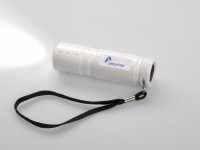 LED-Taschenlampe Metmaxx mit Logo-Doming f�r Amprion