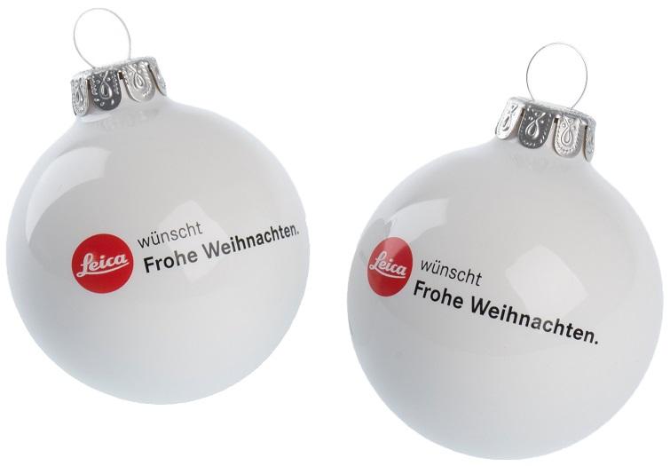 Werbeartikel Weihnachten.Bedruckte Weihnachtskugeln Top Werbemittel Weihnachten Lerche