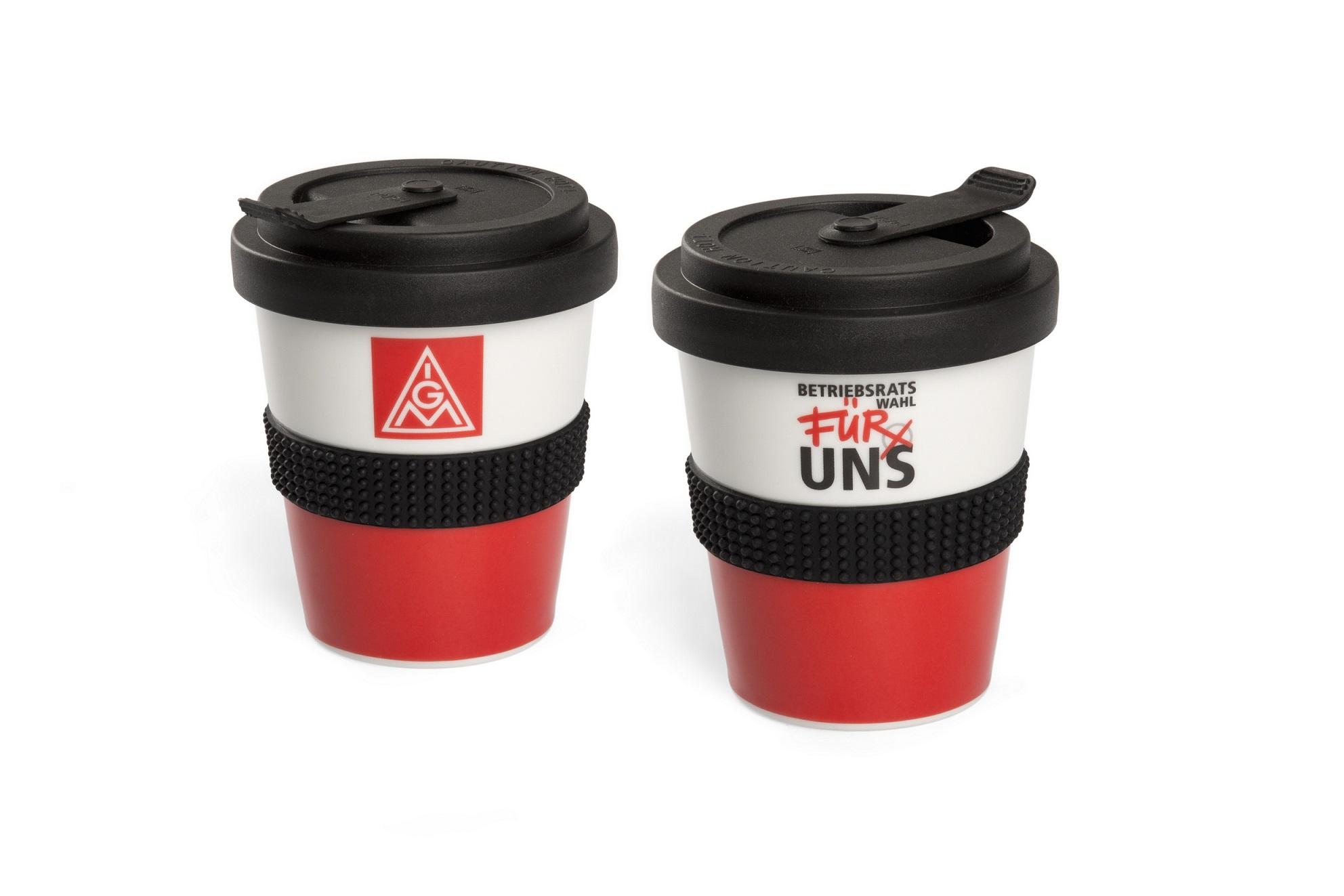 Umweltfreundlicher Und Nachhaltiger Coffee To Go Becher In