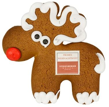 f252r advent und weihnachten als werbemittel lebkuchenelch