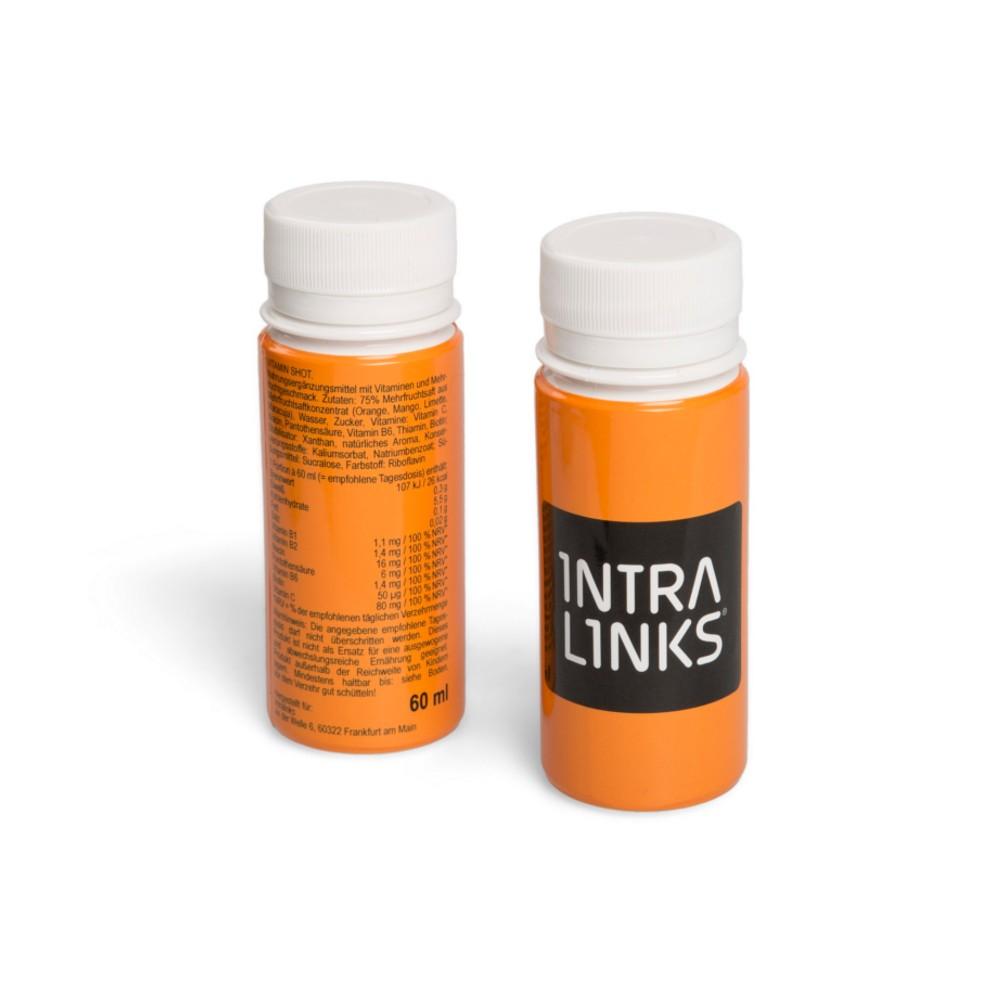 Wieder gut drauf nach einem anstrengeneden Messe-Tag: Werbe-Vitamin ...